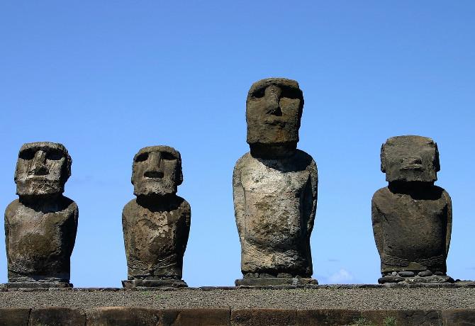 Tajemnicze posągi z Wyspy Wielkanocnej1